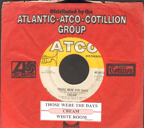 Cream - Those Were The Days/ (with juke box label and Atco company sleeve) - EX8/ - 45 rpm Records