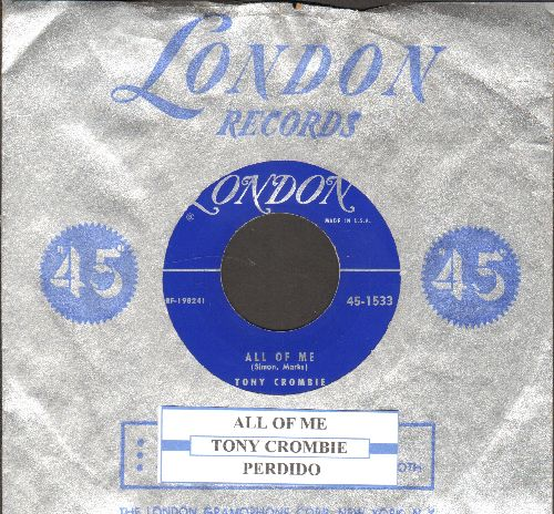 Crombie, Tony - All Of Me (VERY