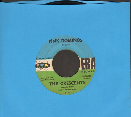 Crescents - Pink Dominos/Breakout (sol) - VG7/ - 45 rpm Records