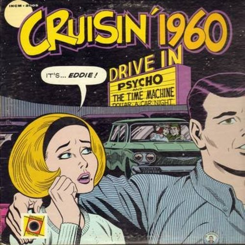 Jones, Joe, Hollywood Argyles, Johnny Preston, Duane Eddy, others - Crusin' 1960 featuring Dick Bondi, WKBW, Buffalo, NY: You Talk Too Much, Tears On My Pillow, Alley Oop, Stay, The Big Hurt (Vinyl MONO LP record) - EX8/EX8 - LP Records