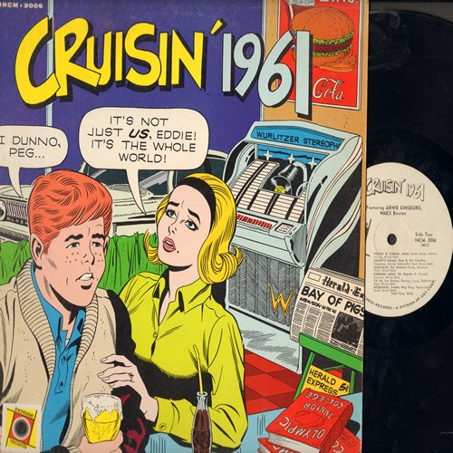 Cruisin' 1961 - Crusin' 1961: Blue Moon, Nadine, Beep Beep, Daddy's Home, Runaway, Barbara Ann, Wooden Heart (Vinyl MONO LP record) - EX8/EX8 - LP Records