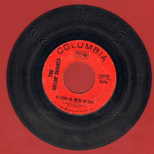 Cryan' Shames - It Could Be We're In Love/I Was Lonely When (minor wol) - EX8/ - 45 rpm Records