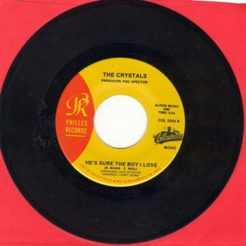 Crystals - He's Sure The Boy I Love/Uptown (authentic-looking double-hit reissue) - M10/ - 45 rpm Records
