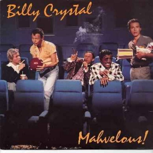 Crystal, Billy - Mahvelous!: Billy Crystal's wild comedy characters, including the Fernando Lamas parody -You Look Mahvelous!- (vinyl LP record) - EX8/VG7 - LP Records
