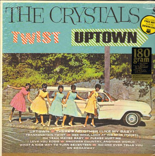 Crystals - Twist Uptown: There's No Other (Like My Baby), Frankenstein Twist, Gee Whiz, I Love You Eddie (180 gram Virgin Vinyl EU re-issue of RARE vintage recordings, SEALED, never opened!) - SEALED/SEALED - LP Records