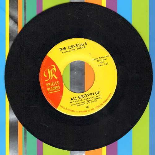 Crystals - All Grown Up/Irving (Jaggered Sixteenths) - EX8/ - 45 rpm Records