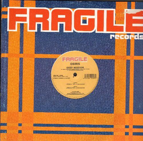 Osiris - Deep Mssion (Vinyl Maxi Record) - NM9/VG7 - Maxi Singles