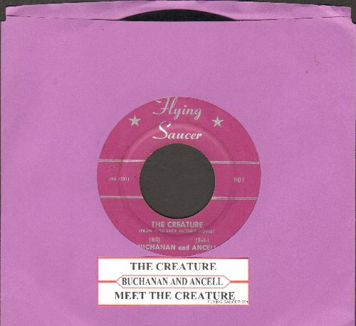 Buchanan & Ancell - The Creature/Meet The Creature (with juke box label) - EX8/ - 45 rpm Records