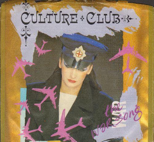 Culture Club - The War Song/La Cancion De Guerra (with picture sleeve) - NM9/VG7 - 45 rpm Records