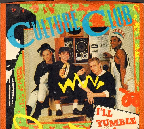 Culture Club - I'll Tumble 4 Ya/Mystery Boy (with picture sleeve) - NM9/NM9 - 45 rpm Records