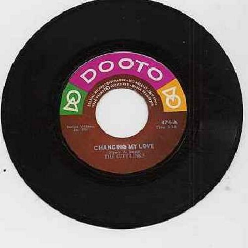 Cuff Links - Chancing My Love/I Don't Want Nobody (1970s issue of vintage recordings) - EX8/ - 45 rpm Records