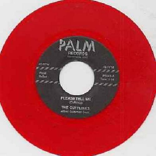 Cufflinks - Gee, I Don't Know Why/Please tell Me (authentic-looking red vinyl re-issue) - NM9/ - 45 rpm Records
