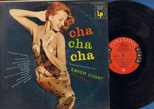 Cugat, Xavier & His Orchestra - Bread, Love And Cha Cha Cha: Oyeme Mama!, Cha Cha Cha No. 5, Chatter Cha Cha Cha, Tremendo Cha Cha Cha (Vinyl MONO LP record) - NM9/VG7 - LP Records