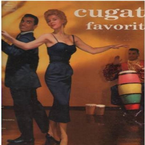 Cugat, Xavier & His Orchestra - Cugat's Favorites: Brazil, Linda Mujer, Miami Beach Rhumba, Cucaracha Mambo, Donde Estabas Tu (Vinyl MONO LP record) - EX8/VG6 - LP Records
