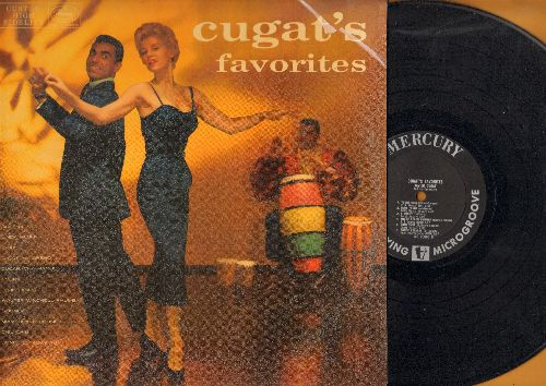 Cugat, Xavier & His Orchestra - Cugat's Favorites: Brazil, Linda Mujer, Miami Beach Rhumba, Cucaracha Mambo, Donde Estabas Tu (Vinyl MONO LP record) - NM9/EX8 - LP Records