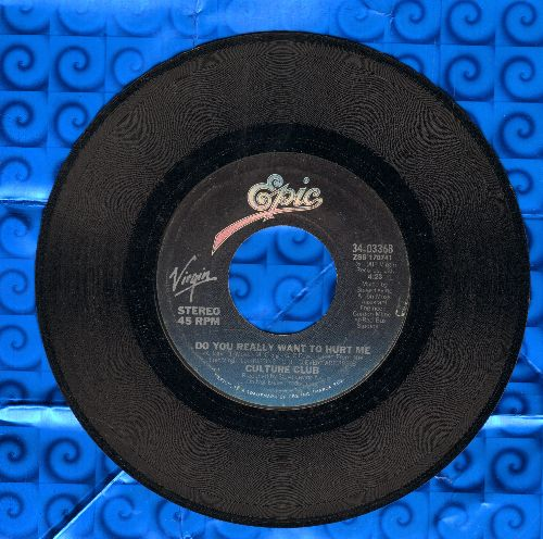 Culture Club - Do You Really Want To Hurt Me/You Know I'm Not Crazy  - EX8/ - 45 rpm Records