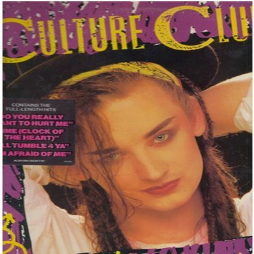 Culture Club - Kissing To Be Clever: Do You Really Want To Hurt Me, I'll Tumble 4 Ya, White Boys Ca't Control It (Vinyl STEREO LP record) - NM9/EX8 - LP Records