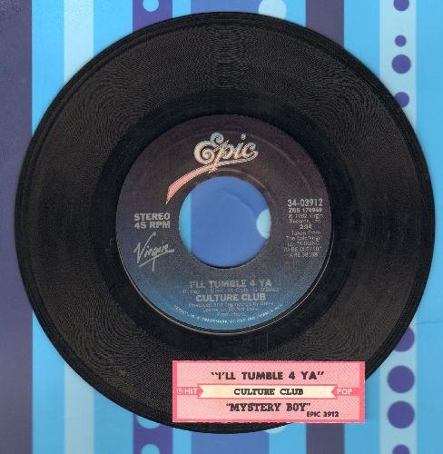 Culture Club - I'll Tumble 4 Ya/Mystery Boy (with juke box label) - EX8/ - 45 rpm Records