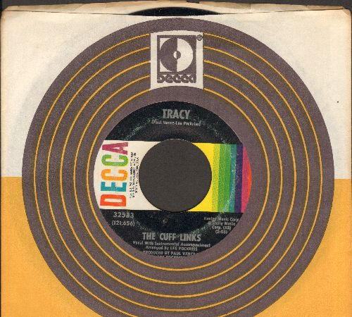 Cuff Links - Tracy/Where Do You Go? (with Decca company sleeve) - EX8/ - 45 rpm Records