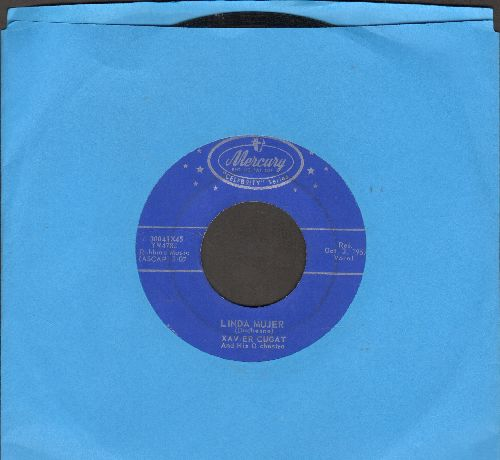 Cugat, Xavier & His Orchestra - Linda Mujer/Miami Rhumba (early re-issue) - EX8/ - 45 rpm Records