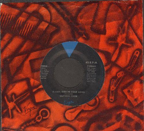 Cutting Crew - (I Just) Died In Your Arms/For The Longest Time (with company sleeve) - NM9/ - 45 rpm Records