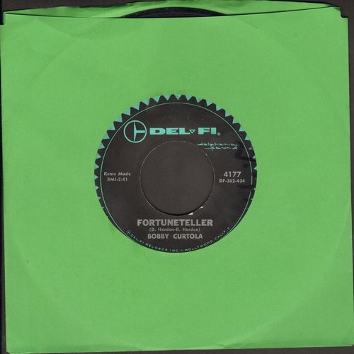 Curtola, Bobby - Fortuneteller/Johnny Take Your Time - VG7/ - 45 rpm Records