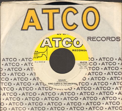 Curtis, King & The Kingpins - Soulin'/Teasin' (with Atco company sleeve) - NM9/ - 45 rpm Records