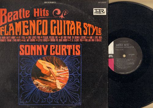 Curtis, Sonny - Beatle Hits - Flamenco Guitar Style: A Hard Day's Night, Do You Want To Know A Secret, She Loves You, Ballad For A Beatle (Vinyl STEREO LP record) - NM9/VG7 - LP Records