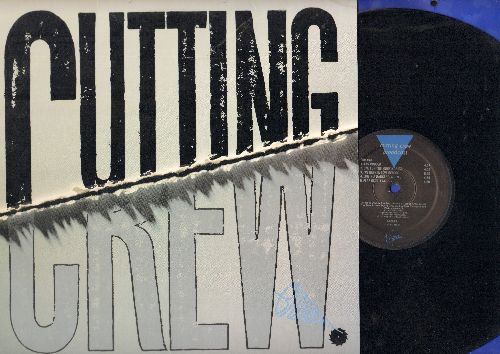 Cutting Crew - Broadcast: Any Colour, (I Just) Died In Your Arms, Fear Of Falling, Life In A Dangerous Time (vinyl STEREO LP record) - EX8/EX8 - 45 rpm Records
