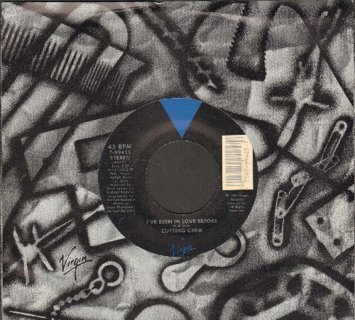 Cutting Crew - I've Been In Love Before/Life In A Dangerous Time (with company sleeve) - NM9/ - 45 rpm Records