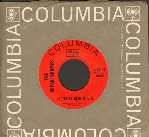 Cryan' Shames - It Could Be We're In Love/I Was Lonely When (with Columbia company sleeve) - NM9/ - 45 rpm Records