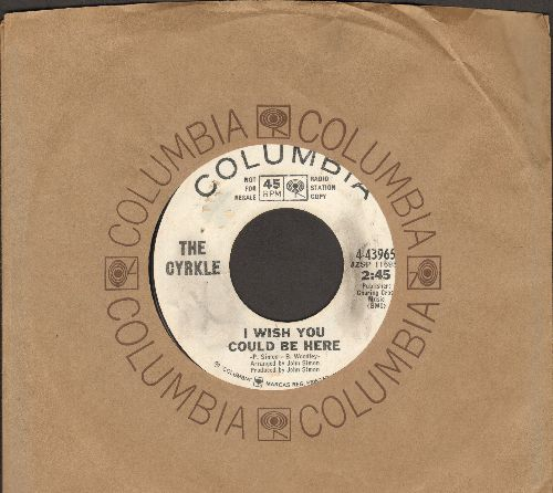 Cyrkle - I Wish You Could Be Here/The Visit (She Was Here) (DJ advance pressing with Columbia company sleeve) - EX8/ - 45 rpm Records