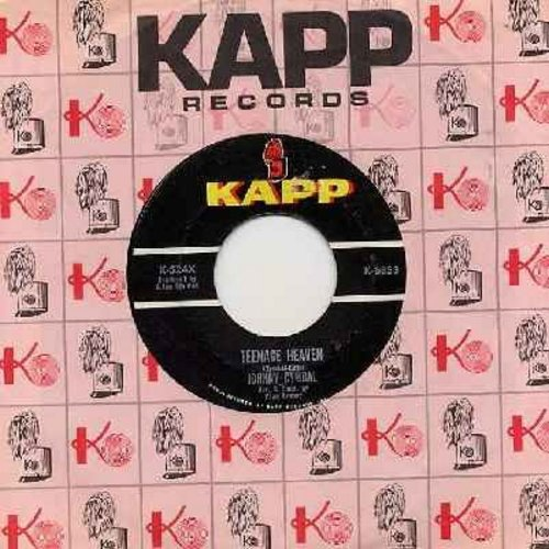 Cymbal, Johnny - Teenage Heaven/Cinderella Baby (with vintage Kapp company sleeve) - EX8/ - 45 rpm Records