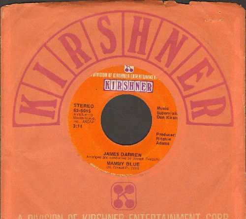 Darren, James - Mammy Blue/As Long As You Love Me (with Kirshner company sleeve) - EX8/ - 45 rpm Records