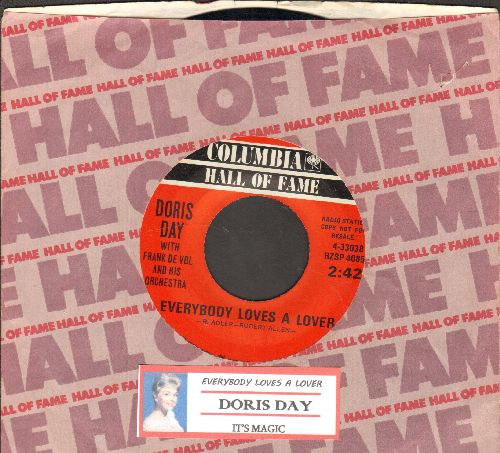 Day, Doris - Everybody Loves A Lover/It's Magic (double-hit re-issue) - NM9/ - 45 rpm Records