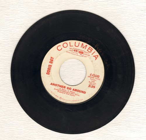 Day, Doris - Another Go Around/Not Only Should You Love Him (DJ advance pressing) - VG7/ - 45 rpm Records