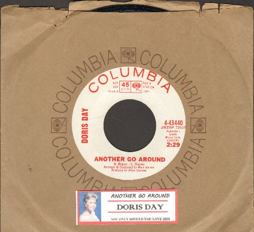 Day, Doris - Another Go Around/Not Only Should You Live Him (DJ advance pressing with Columbia company sleeve and juke box label) - NM9/ - 45 rpm Records