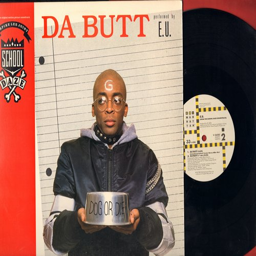 E. U. - Da Butt - 12 inch vinyl Maxi single with picture cover featuring 4 different versions of the Rap Novelty - NM9/EX8 - Maxi Singles