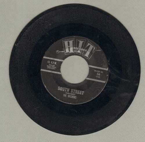 Dacrons - South Street/What Will My Mary Say (by Tony Christopher on flip-side) (contemporary cover versions of hits) - VG7/ - 45 rpm Records