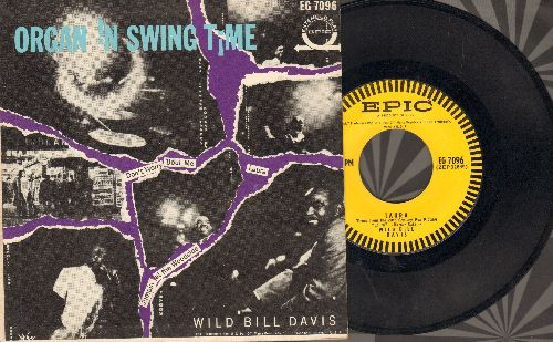 Davis, Wild Bill - Laura/Jumpin' At The Woodside/Don't Worry 'Bout Me (vinyl EP record with picture cover) - NM9/EX8 - 45 rpm Records