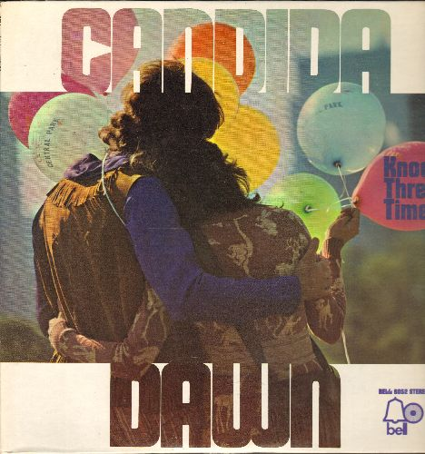 Dawn - Candida: Knock Three Times, Up On The Roof, California In My Mind, Rainy Day Man (Vinyl STEREO LP record) - NM9/NM9 - LP Records