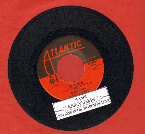 Darin, Bobby - Mame/Walking In The Shadow Of Love (with juke box label) - EX8/ - 45 rpm Records