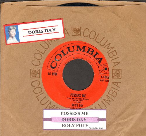 Day, Doris - Possess Me/Roly Poly (with juke box label and vintage Columbia company sleeve) - EX8/ - 45 rpm Records
