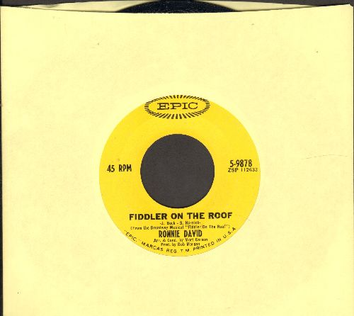David, Ronnie - Fiddler On The Roof/Love Theme From -Madame X- (Swedish Rhapsody) - NM9/ - 45 rpm Records
