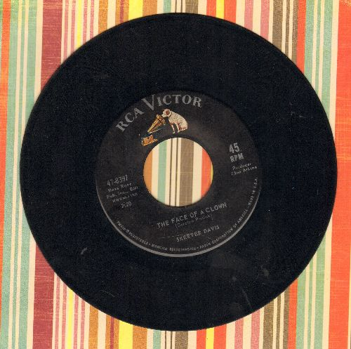 Davis, Skeeter - The Face Of A Clown/Let Me Get Close To You - VG7/ - 45 rpm Records