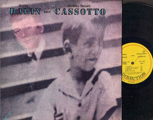 Darin, Bobby - Bobby Darin born Walden Robert Cassotto: Long Line Rider, Change, In Memoriam, Sunday, Jingle Jangle Jungle (Vinyl STEREO LP record, gate-fold cover) - NM9/EX8 - LP Records