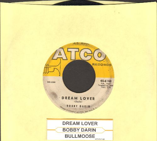 Darin, Bobby - Dream Lover/Bullmoose (with juke box label) - VG6/ - 45 rpm Records