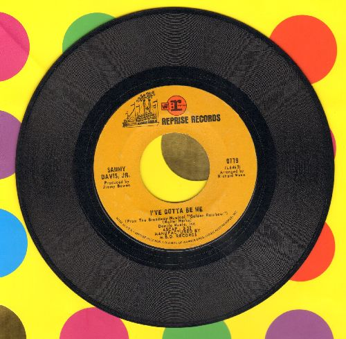 Davis, Sammy Jr. - I've Gotta Be Me/Bein' Natural Bein' Me (with Reprise company sleeve) - EX8/ - 45 rpm Records