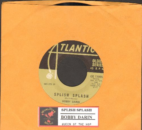 Darin, Bobby - Splish Splash/Queen Of The Hops (double-hit re-issue with juke box label) - EX8/ - 45 rpm Records