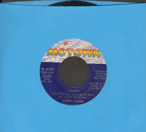 Darin, Bobby - Happy/Something In Her Love  - EX8/ - 45 rpm Records